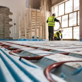 How to install Underfloor Heating – Pocketed Polystyrene System Image