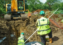 OsmaDrain makes a difference at Pilsdon Community Project Image