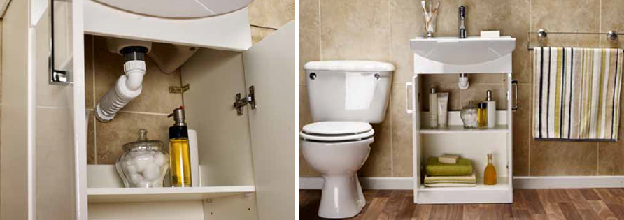 HepvO can help save space in bathrooms