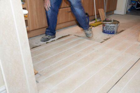 How to install underfloor heating