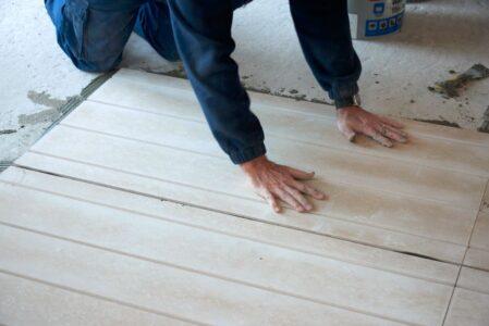 Underfloor heating installation - Step 10