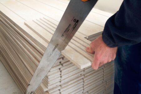 Underfloor heating installation - Step 1