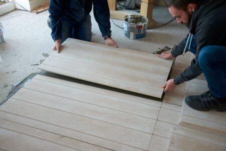 Underfloor heating installation - Step 8