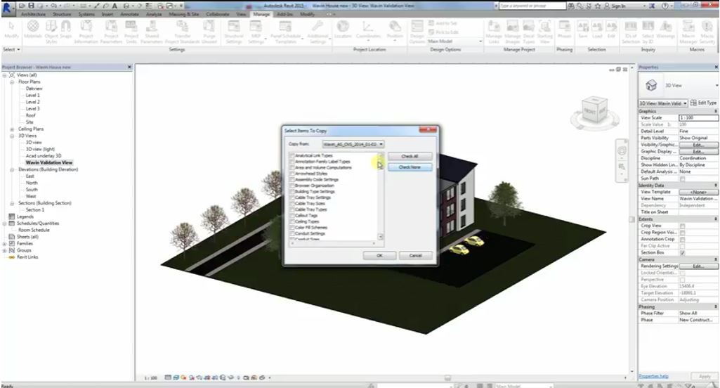 How to import Wavin's content packages in Revit