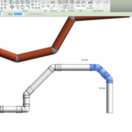 How to use bends in our Revit families for BIM Image