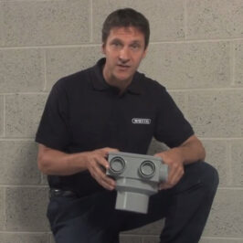How to install a six boss soil manifold Image