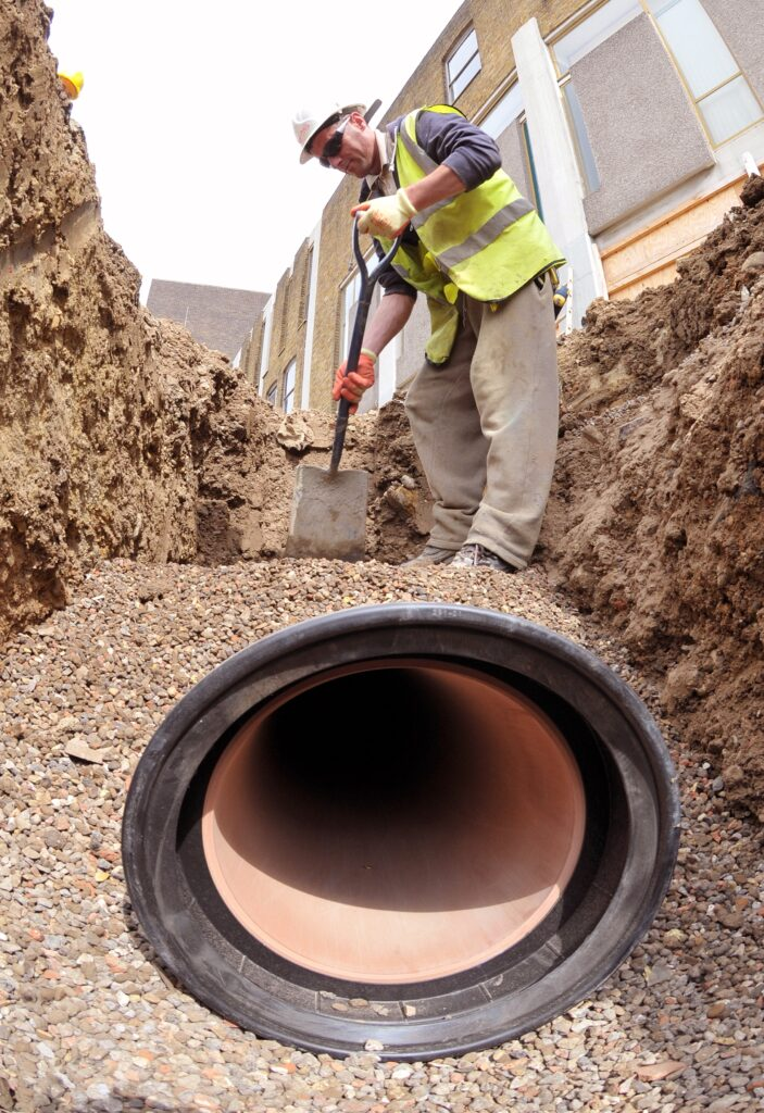 How to install a clay drainage system | Wavin UK Blog