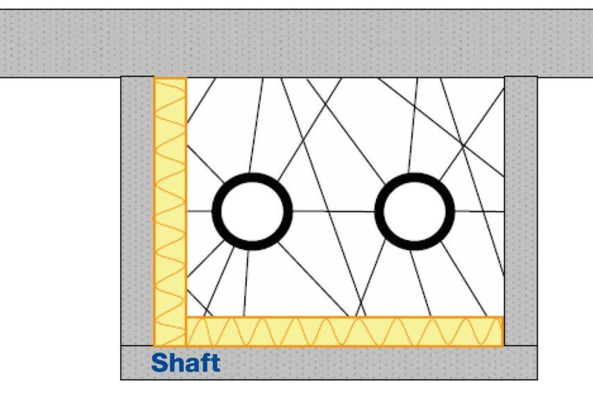 shaft insulation